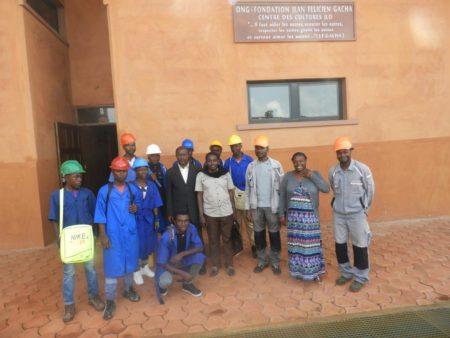 Stage pratique des élèves du CETIC de Bangoulap