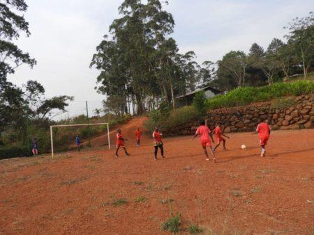Match amical de Football masculin à la Fondation Gacha le mercredi 11 juillet 2018