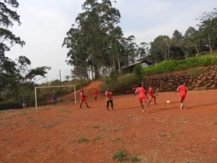Match de Football à la Fondation Gacha