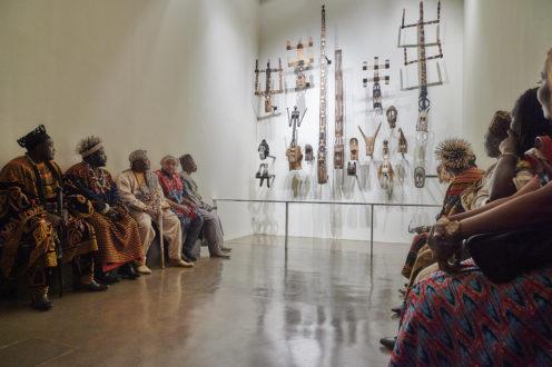 Rencontre avec les autorités traditionnelles d'Afrique en France