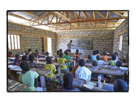 Construction de l'Ecole Maternelle de Manoré