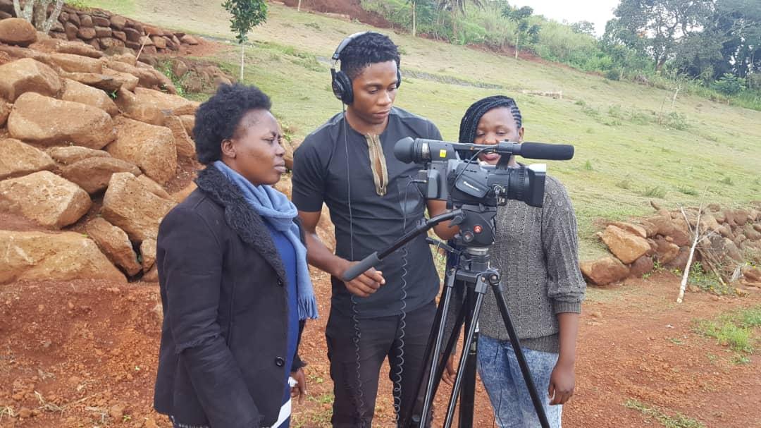 Documentary cinema training workshop at the Jean-Félicien Gacha foundation
