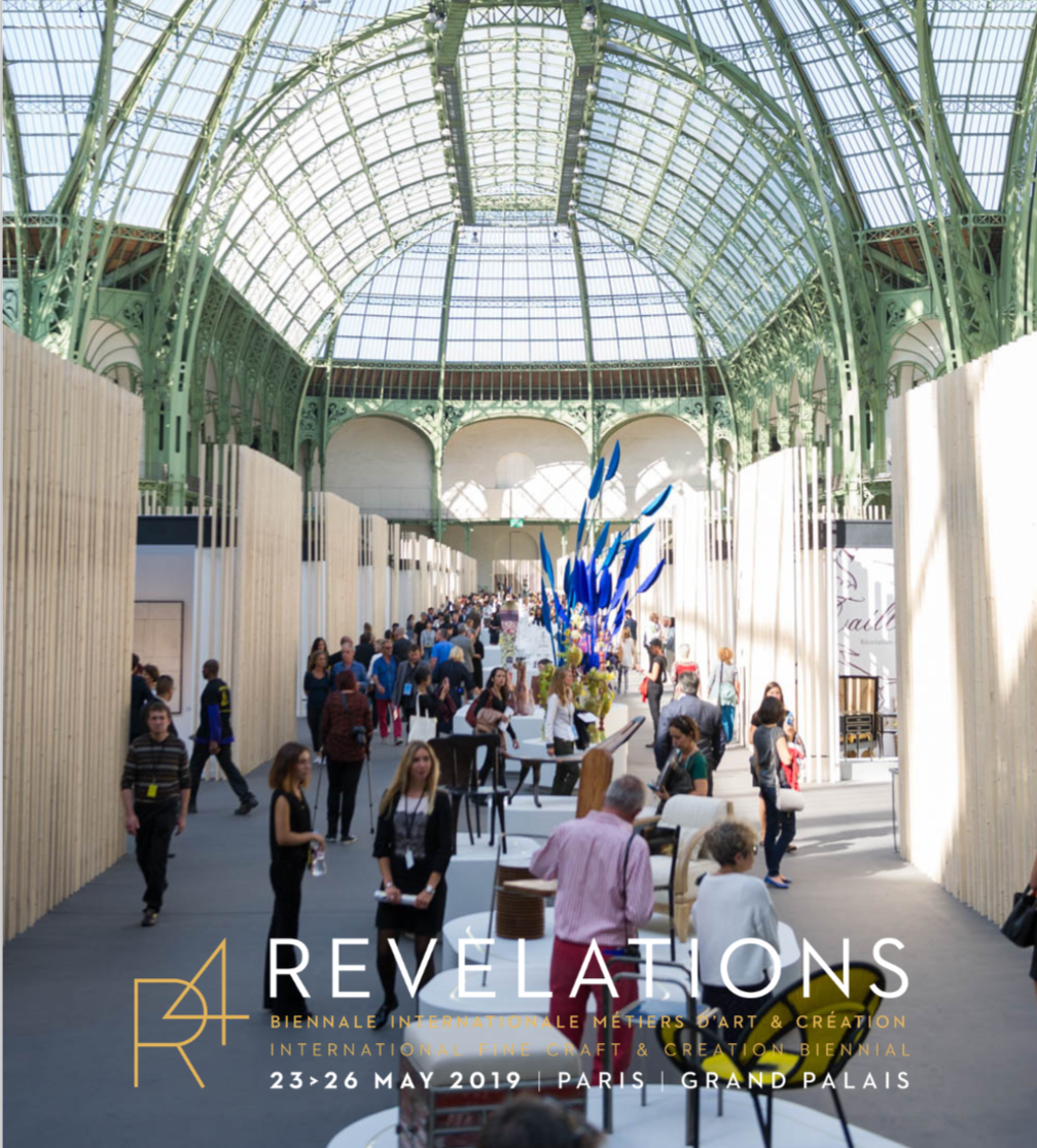 EXHIBITION AT THE 'REVELATIONS' FAIR, GRAND PALAIS, PARIS FROM MAY 23 TO 26, 2019