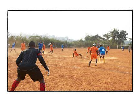Football : Les lions de Boutanga affrontent l'équipe de Baleng