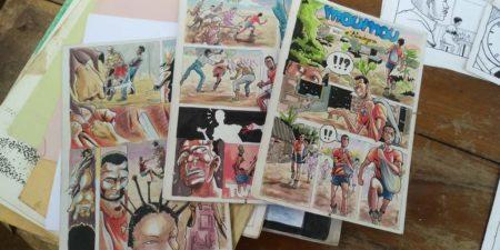 Atelier Bande dessinée en présence d'illustrateurs