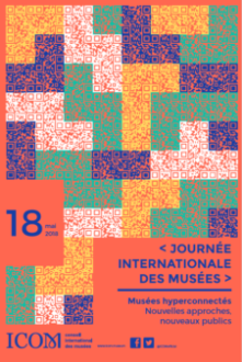 Rendez-vous le 18 mai 2018 à la Journée internationale des Musées au Centre des Cultures JLD