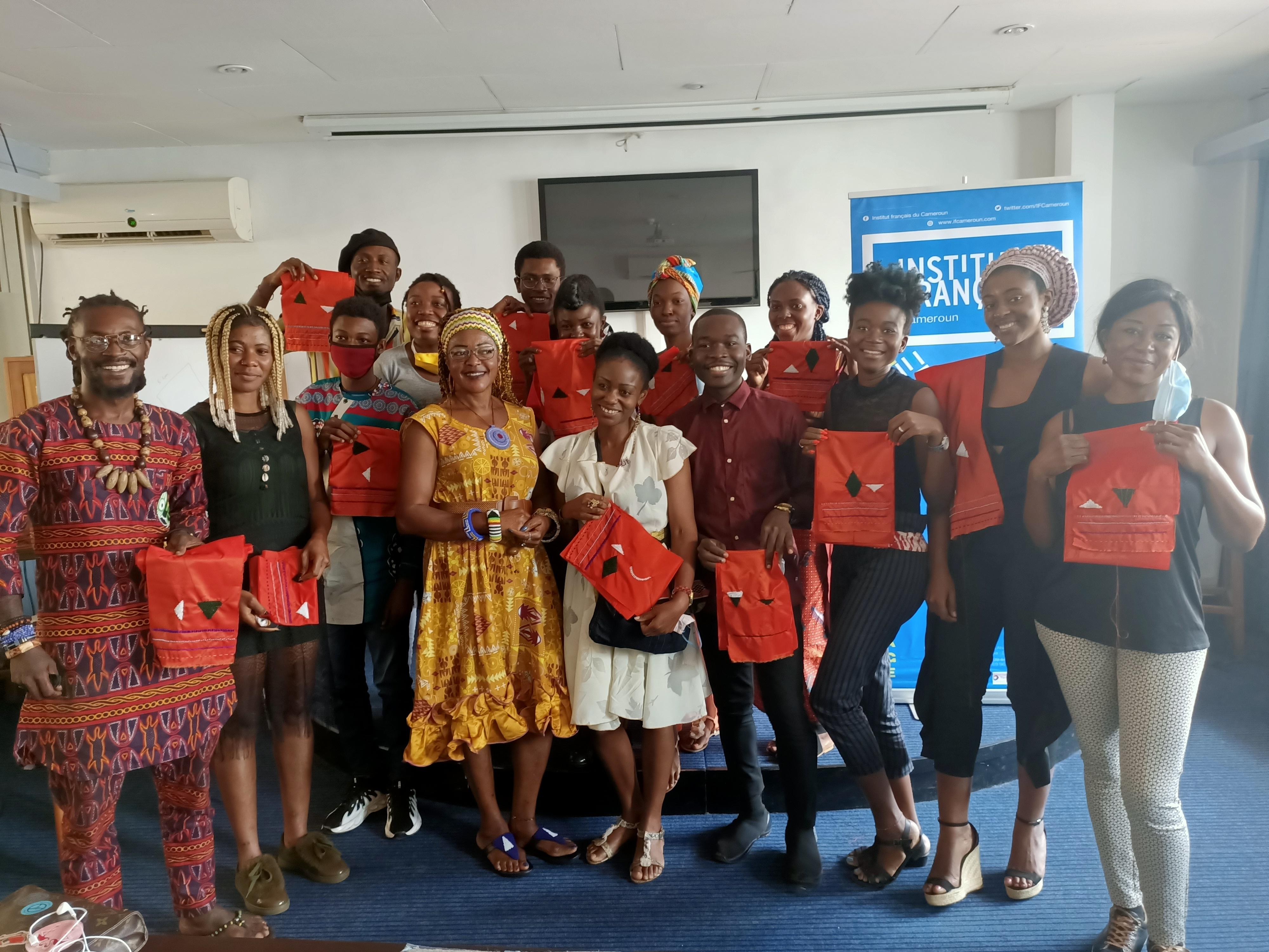 Professional Workshop - Beadwork on Textile with Igénie Nomba